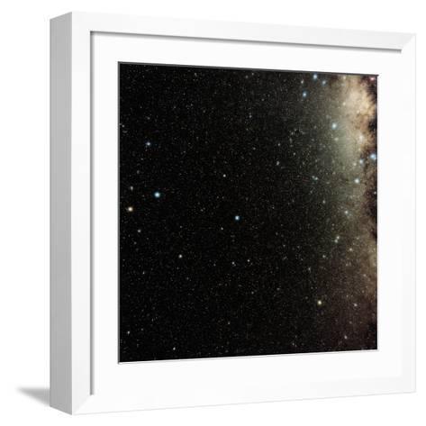 Pavo Constellation-Eckhard Slawik-Framed Art Print
