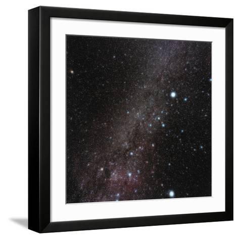 Canis Major Constellation-Eckhard Slawik-Framed Art Print