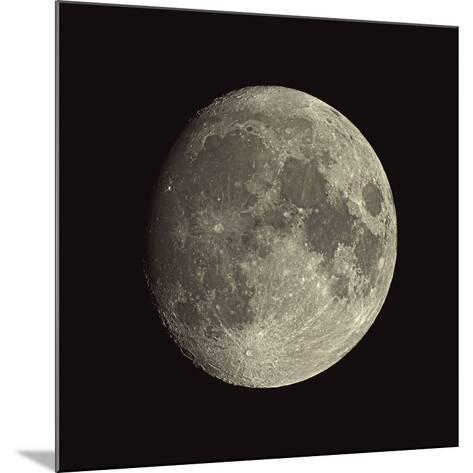 Waxing Gibbous Moon-Eckhard Slawik-Mounted Photographic Print