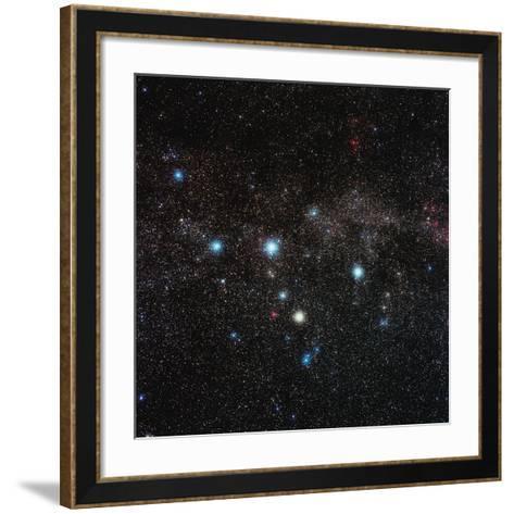 Cassiopeia Constellation-Eckhard Slawik-Framed Art Print