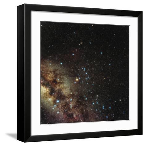 Centre of Milky Way-Eckhard Slawik-Framed Art Print