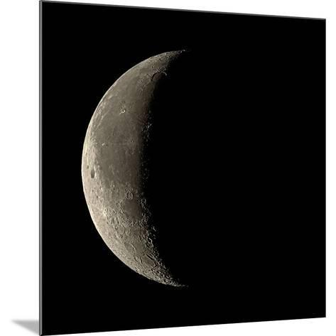 Waning Crescent Moon-Eckhard Slawik-Mounted Photographic Print