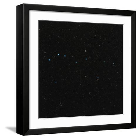 Ursa Major Constellation-Eckhard Slawik-Framed Art Print