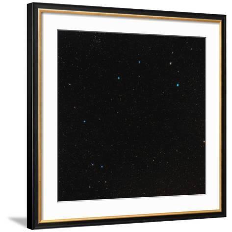 Leo Constellation-Eckhard Slawik-Framed Art Print