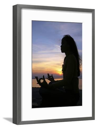 Meditation-Bjorn Svensson-Framed Art Print