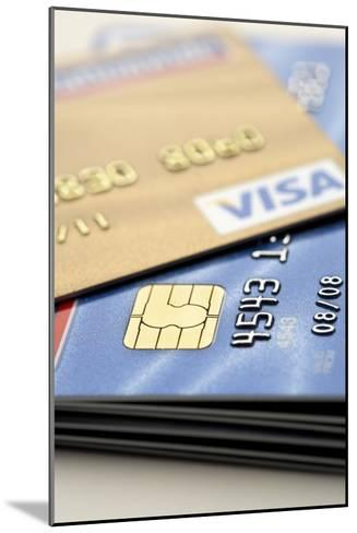 Credit Cards-Jon Stokes-Mounted Photographic Print