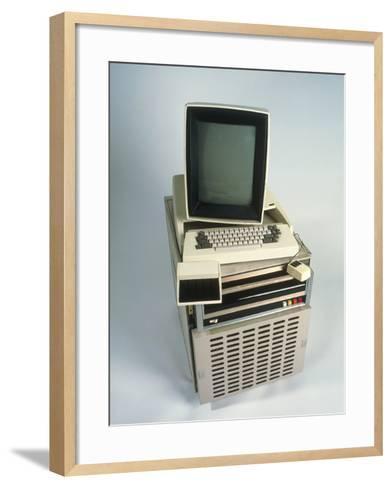 Xerox Alto Computer-Volker Steger-Framed Art Print