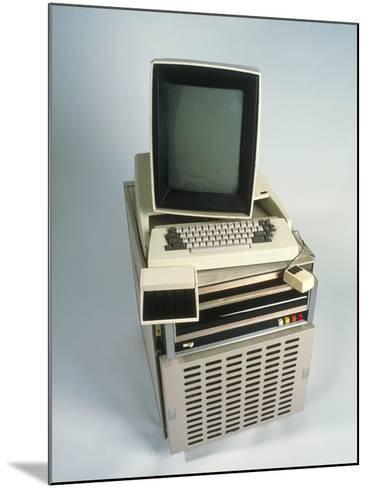 Xerox Alto Computer-Volker Steger-Mounted Photographic Print