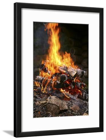 Fire-Bjorn Svensson-Framed Art Print