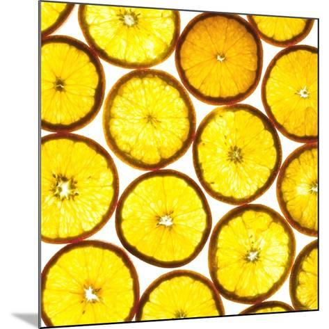 Orange Slices-Mark Sykes-Mounted Photographic Print