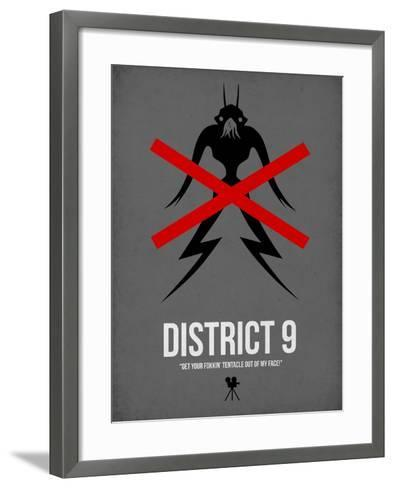 District-David Brodsky-Framed Art Print