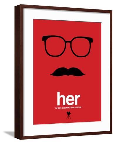Her-David Brodsky-Framed Art Print