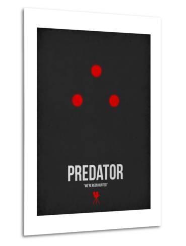 Predator-David Brodsky-Metal Print