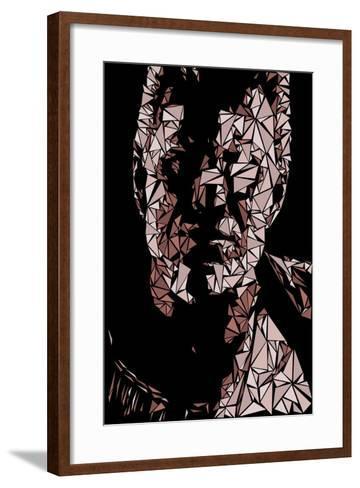 Sin-Cristian Mielu-Framed Art Print
