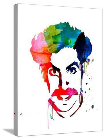 Borat Watercolor-Lora Feldman-Stretched Canvas Print