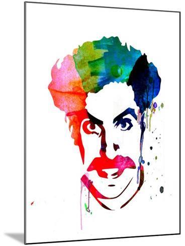 Borat Watercolor-Lora Feldman-Mounted Art Print