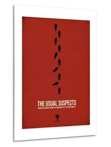 The Usual Suspects-David Brodsky-Metal Print