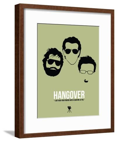 Hangover-David Brodsky-Framed Art Print