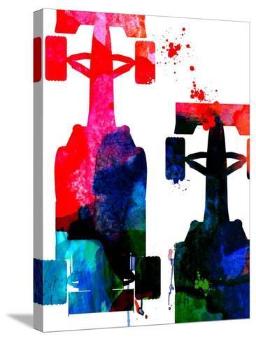 Rush Watercolor 1-Lora Feldman-Stretched Canvas Print