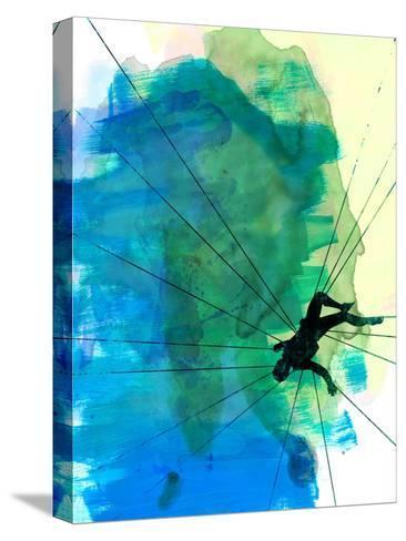 Vertigo Watercolor-Lora Feldman-Stretched Canvas Print