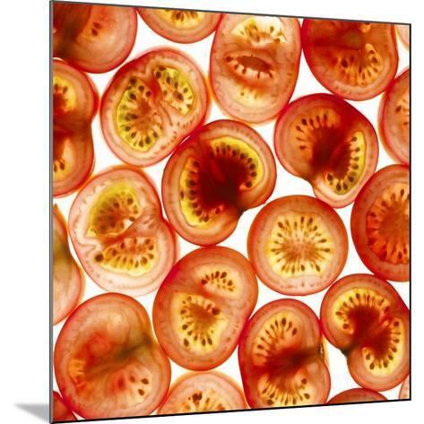 Tomato Slices-Mark Sykes-Mounted Photographic Print