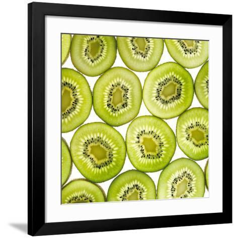 Kiwi Slices-Mark Sykes-Framed Art Print