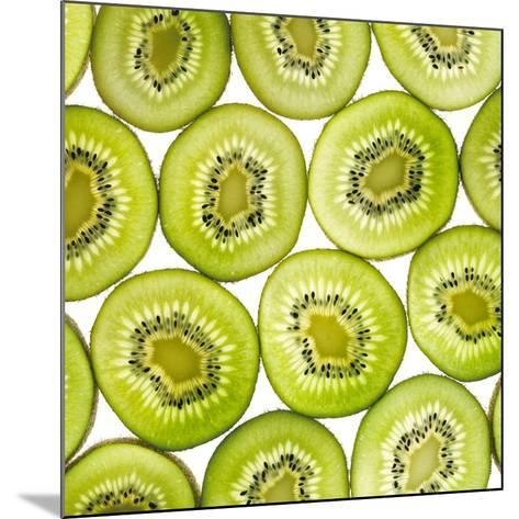 Kiwi Slices-Mark Sykes-Mounted Photographic Print