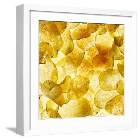Crisps-Mark Sykes-Framed Art Print