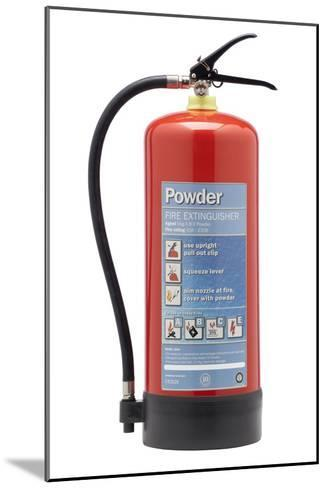 Powder Fire Extinguisher-Mark Sykes-Mounted Photographic Print