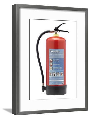 Powder Fire Extinguisher-Mark Sykes-Framed Art Print