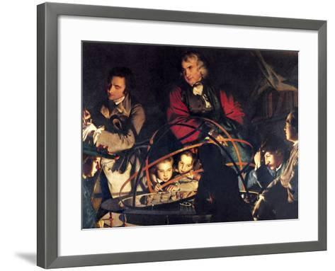 The Orrery by Joseph Wright-Sheila Terry-Framed Art Print
