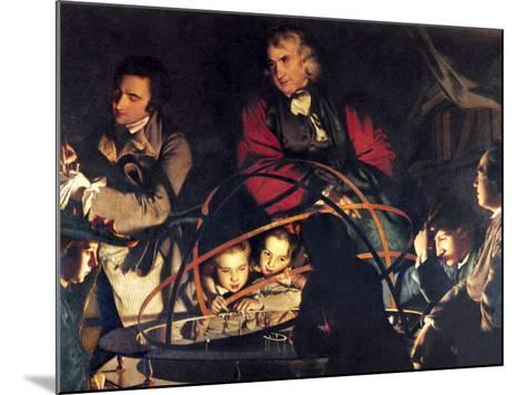 The Orrery by Joseph Wright-Sheila Terry-Mounted Photographic Print