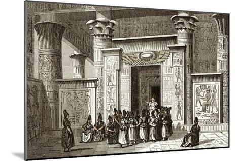 Pythagoras And Egyptian Priests-Sheila Terry-Mounted Photographic Print
