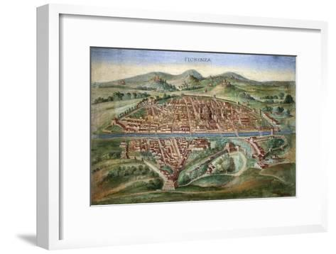 16th Century Plan of Florence-Sheila Terry-Framed Art Print