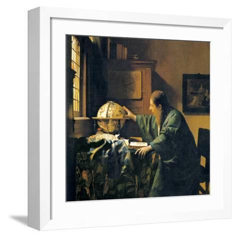 The Astronomer, 17th Century Artwork-Sheila Terry-Framed Art Print