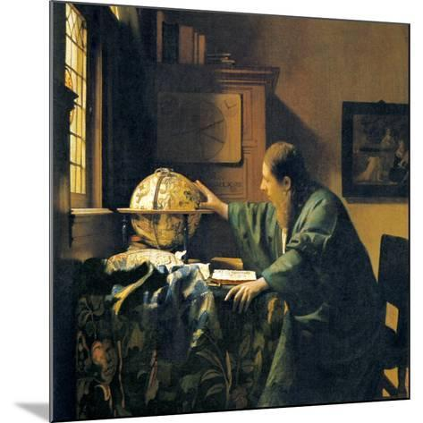 The Astronomer, 17th Century Artwork-Sheila Terry-Mounted Photographic Print