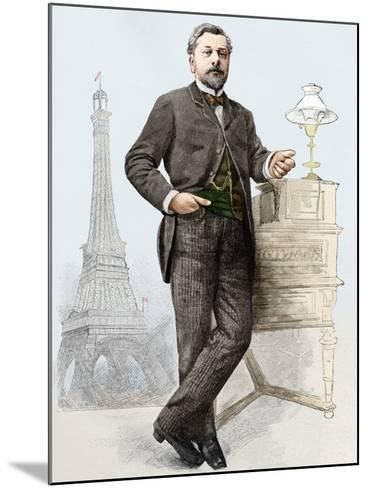 Alexandre Gustave Eiffel (1832-1923), Engineer-Sheila Terry-Mounted Photographic Print