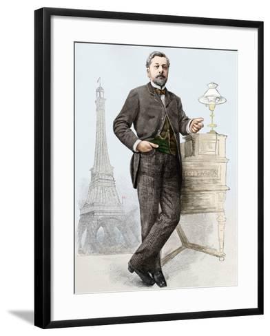Alexandre Gustave Eiffel (1832-1923), Engineer-Sheila Terry-Framed Art Print