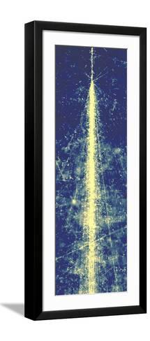 High-energy Cosmic Ray-Powell, Fowler and Syred-Framed Art Print