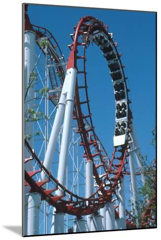 Loop Section of a Rollercoaster Ride-Kaj Svensson-Mounted Photographic Print