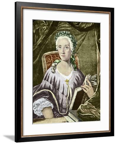 Laura Bassi, Italian Physicist-Sheila Terry-Framed Art Print
