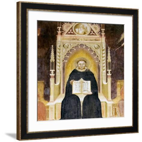 Thomas Aquinas, Italian Priest-Sheila Terry-Framed Art Print