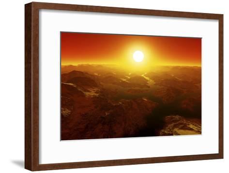 Alien Landscape, Artwork-Detlev Van Ravenswaay-Framed Art Print