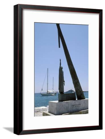 Monument To Pythagoras of Samos-Detlev Van Ravenswaay-Framed Art Print