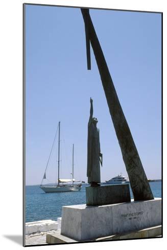 Monument To Pythagoras of Samos-Detlev Van Ravenswaay-Mounted Photographic Print