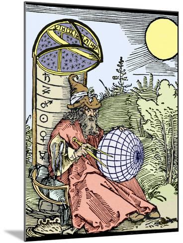 Durer's Astronomer, 1504-Sheila Terry-Mounted Photographic Print
