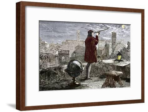 Nicolaus Copernicus, Polish Astronomer-Sheila Terry-Framed Art Print