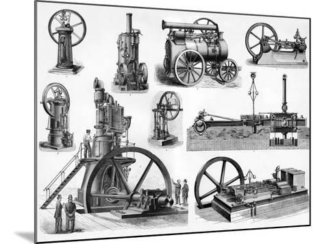 19th Century Steam Engines-Sheila Terry-Mounted Photographic Print
