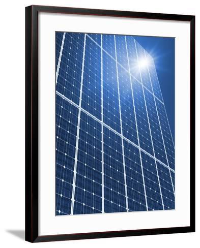 Solar Panels In the Sun-Detlev Van Ravenswaay-Framed Art Print