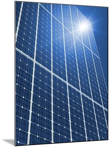 Solar Panels In the Sun-Detlev Van Ravenswaay-Mounted Photographic Print